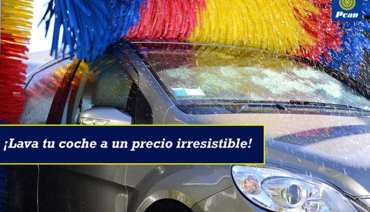 ¡Lava tu coche a un precio irresistible!